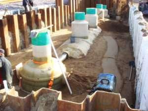 Автономная канализация коттеджного поселка