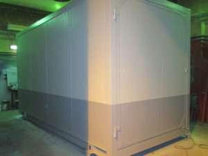 Блок-контейнер для ПБК для водоподготовки