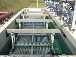 Очистные сооружения с применением мембранных биореакторов (МБР)