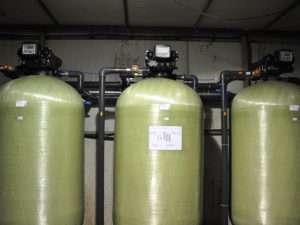 Сорбционная система очистки воды