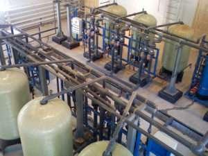 Водоподготовка для линий розлива питьевой воды