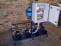 Шкаф управления насосной станцией повышения давления