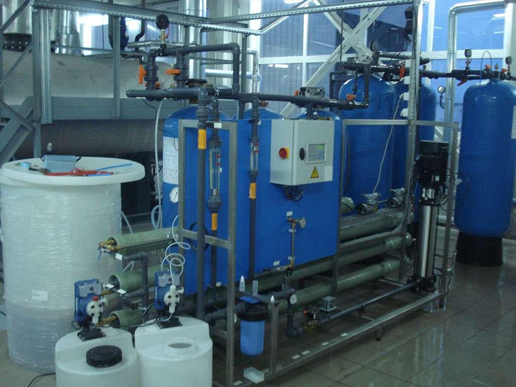 Водоподготовка ТЭЦ